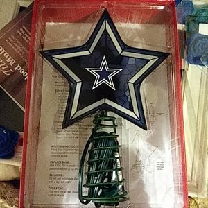 NWT Dallas Cowboys Tree Star